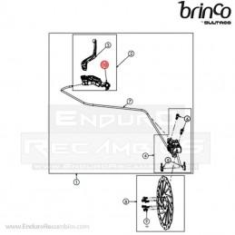 Nº 10 - BRIDA BOMBA FRENO...