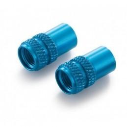 Juego tapones de valvula azul