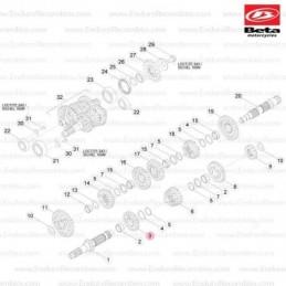 Nº40 - Tapón M12 X 1,5 - Ref.: 3625062000