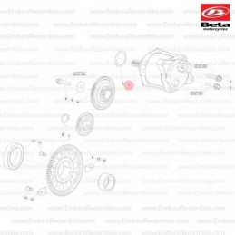 Nº13 - Eje distribución DESCARGA 430-480cc - Ref.: 029111518000