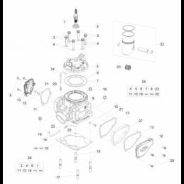 Nº 25 Tornillo M6x12 Ref.: 1147015000