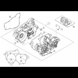 Nº 1 Tapa interior embrague RACING Ref.: 029010308000