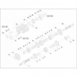 Nº 29 Tornillo M10x18 Ref.: 006040420000