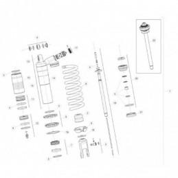 Nº 9 Cerradura bloque manillar Ref.: 2885861000