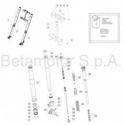Nº 25 Tornillo especial TSBEI CH6 M8x20 10.9 zinc Ref.: 007320320000