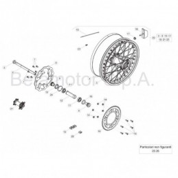 Nº 45 Tornillo M4x12 TCIC Ref.: 3126190000