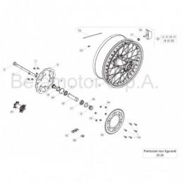 Nº 14 Tornillo especial M6x14 Ref.: 031410430000