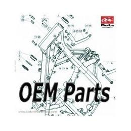Nº 3 Colector Carburador 125 RACING 035010250000