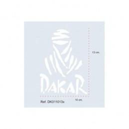 Adhesivo Dakar 10x13 BLANCO