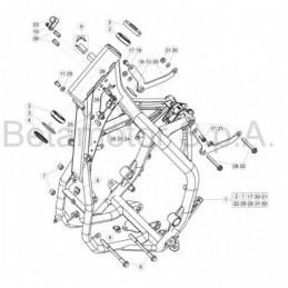 Nº 11 Tornillo TBCE M8X16...