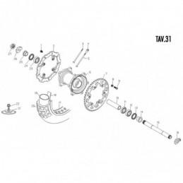 Nº 22 Tuerca M8 - 1317120000