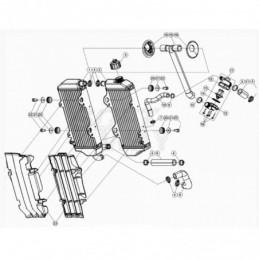 Nº 9 TUBO AGUA RR 2T 125 cc...