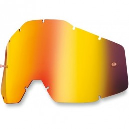 LENTES MIRROR RED 100% OFFROAD