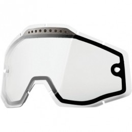 LENTES CLEAR VENTED DUAL 100%