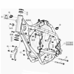 Nº 17 SOPORTE MOTOR RR 2T...