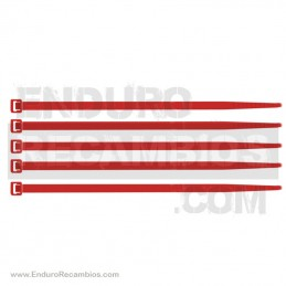 Brida 4.5x280 rojo (50...