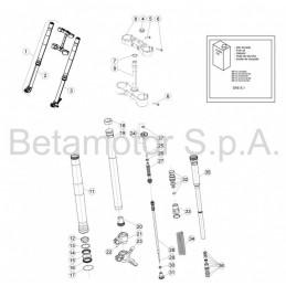 Retrovisor lateral de aluminio