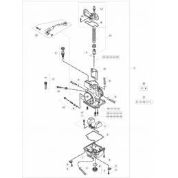 Nº 21 - Kit carburador -...