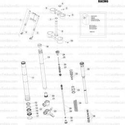 Aro de refuerzo beadlock de 36 cm (14 pulg.) Para X ds