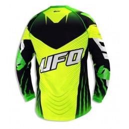 Camiseta UFO Voltage verde...