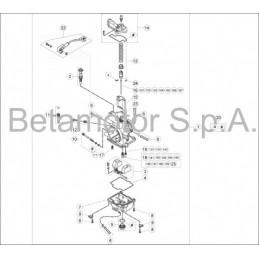 Posición despiece 24 -KIT GRUPO TERMICO SELEC-A 250CC 02611041820A