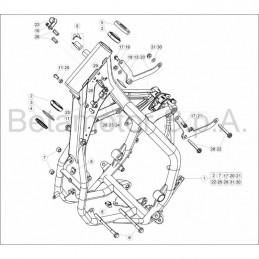 Nº 1- CARBURADOR RR 2T 300 - 026120598200