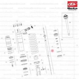Posición despiece 16 -AGUJA KEIHIN N2ZJ 026120190000