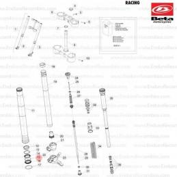 Posición despiece 2 -COJINETE CÓNICO 29X50X15 RR-4T 1299510000
