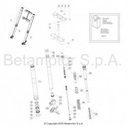 Posición despiece 22 -TORNILLO ANCLAJE M6X35 RS CH 8 1150355000