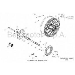 Posición despiece 7 -ABRAZADERA SUPERIOR HORQUILLA RR-4T 1208253000