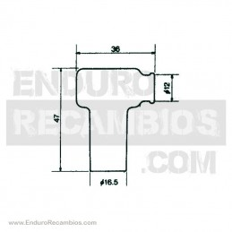 Nº 8 - Pletina elástica M6 - 2560311000