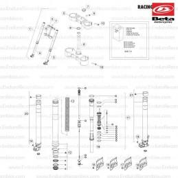 Maneta freno Nissin Beta GasGas Honda D40-11-002