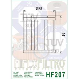 BETA FILTRO ACEITE HF 207