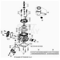 CILINDRO COMPLETO 125-200 2T 21